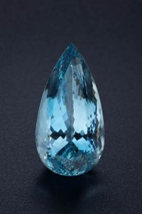 aquamarine-96.48ct Pear Shape Aquamarine— photo by R. Weldon