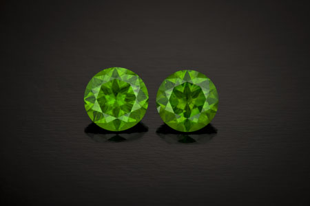 garnet-demantoid garnet 5.27ctw Russia— photo by R. Weldon
