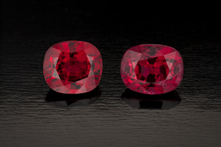 spinel-red spinel burma 4.83- 5.04ct— photo by R. Weldon