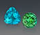 small-4.49ct and 3.29ct Paraiba Tourmalines from Brazil- Photo by R.Weldon